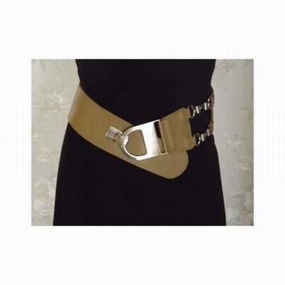 c6d35355d20 ceinture large en cuir rouge